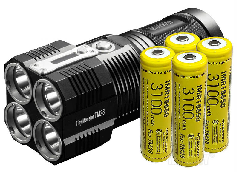 Фонарь Nitecore TM28 Set Black 16106