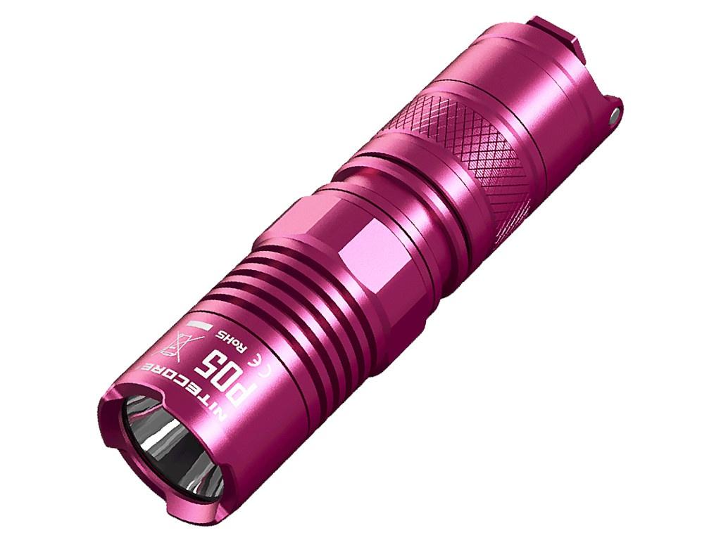 Фонарь Nitecore P05 Pink 15580