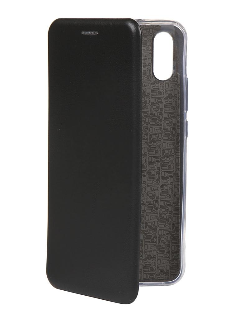 Чехол Zibelino для Xiaomi Redmi 9A Book Black ZB-XIA-RDM-9A-BLK