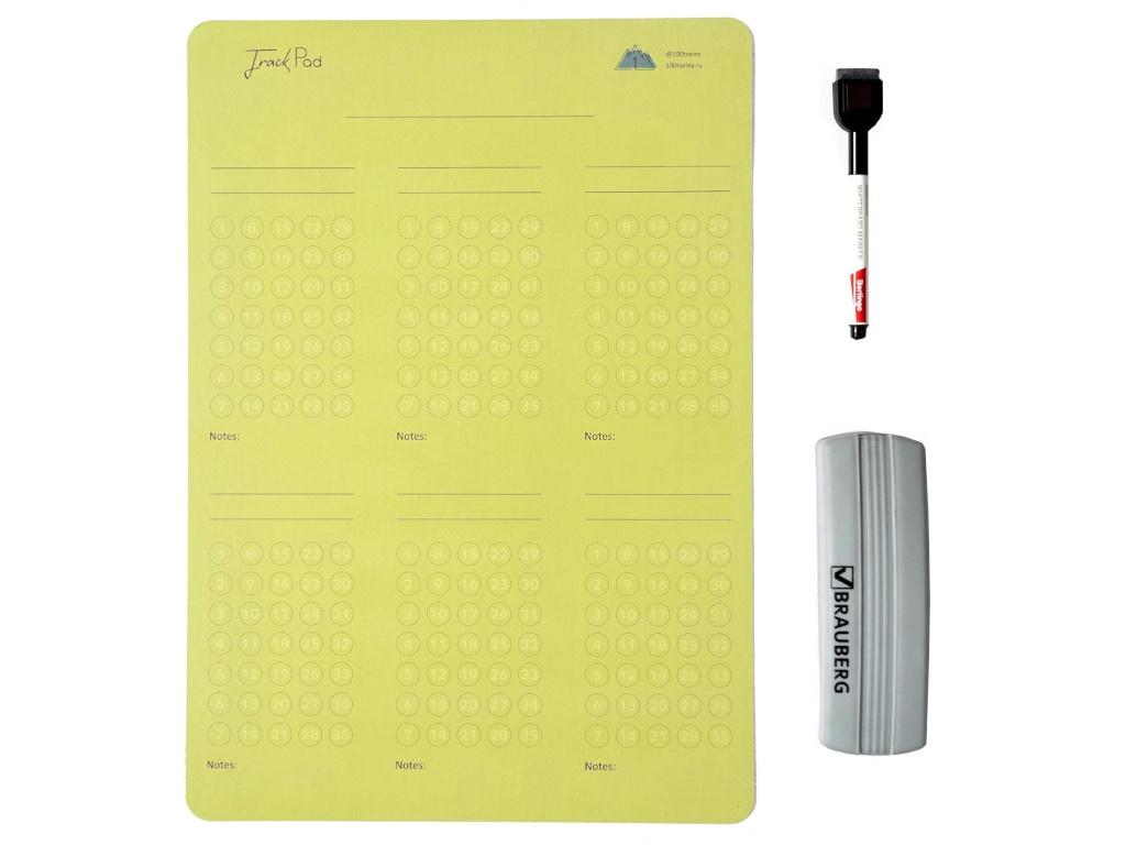 Магнитный трекер 100tseley TrackPad Light Green TP001