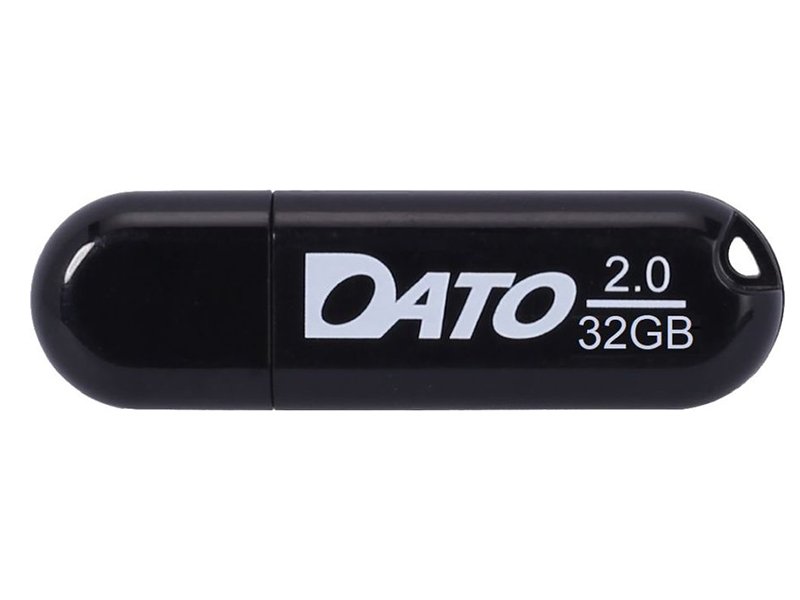 Фото - USB Flash Drive 32Gb - Dato DS2001 USB 2.0 Black DS2001-32G usb flash drive 8gb dato ds7016 usb 2 0 silver ds7016 08g