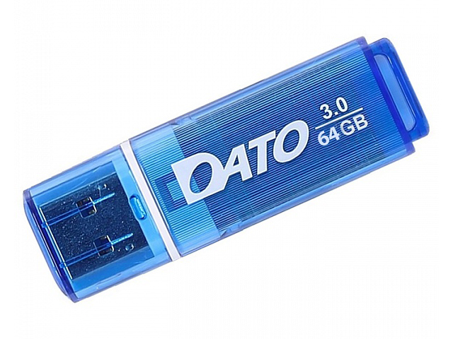 Фото - USB Flash Drive 64Gb - Dato DB8002U3 USB 3.0 Blue DB8002U3B-64G usb flash drive 64gb a data dashdrive uv128 usb 3 0 auv128 64g rby