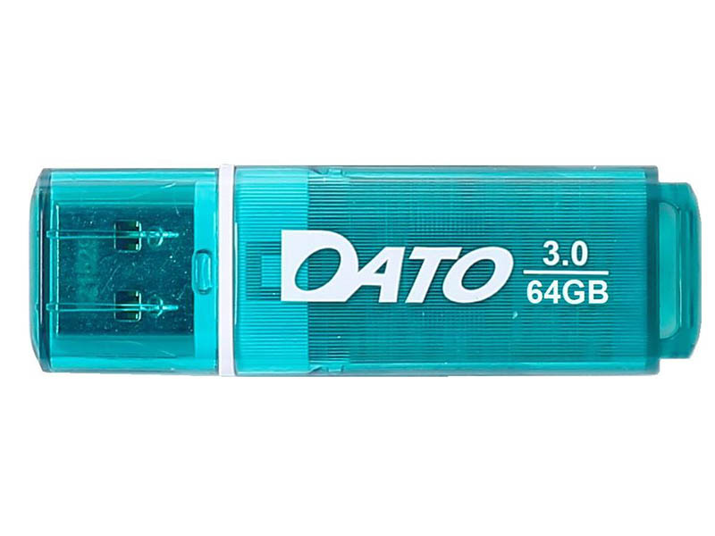 Фото - USB Flash Drive 64Gb - Dato DB8002U3 USB 3.0 Green DB8002U3G-64G usb flash drive 64gb a data dashdrive uv128 usb 3 0 auv128 64g rby