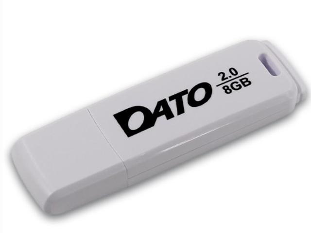 USB Flash Drive 8Gb - Dato DB8001 2.0 White DB8001W-08G