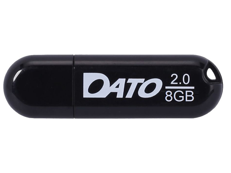 USB Flash Drive 8Gb - Dato DS2001 2.0 Black DS2001-08G
