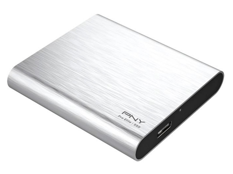 Твердотельный накопитель PNY Portable SSD Elite 1050S USB 3.1 Gen 1 480Gb Silver PSD1CS1050S-480-RB