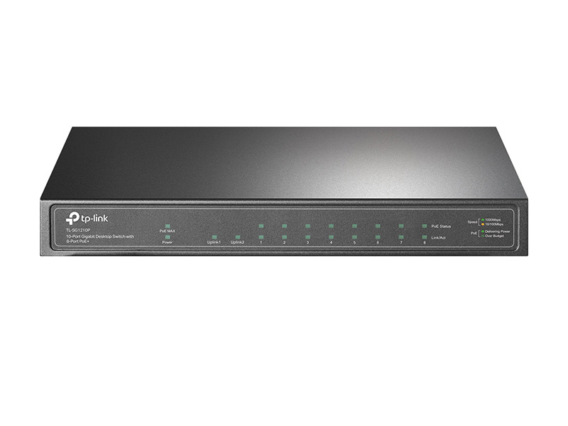 Коммутатор TP-LINK TL-SG1210P коммутатор tp link tl sg1024 v11