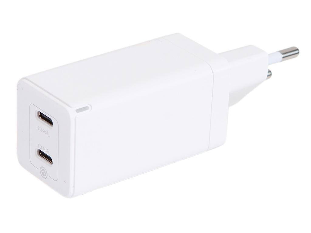 Зарядное устройство Baseus GaN2 Quick Charger C+C 45W EU White CCGAN-M02
