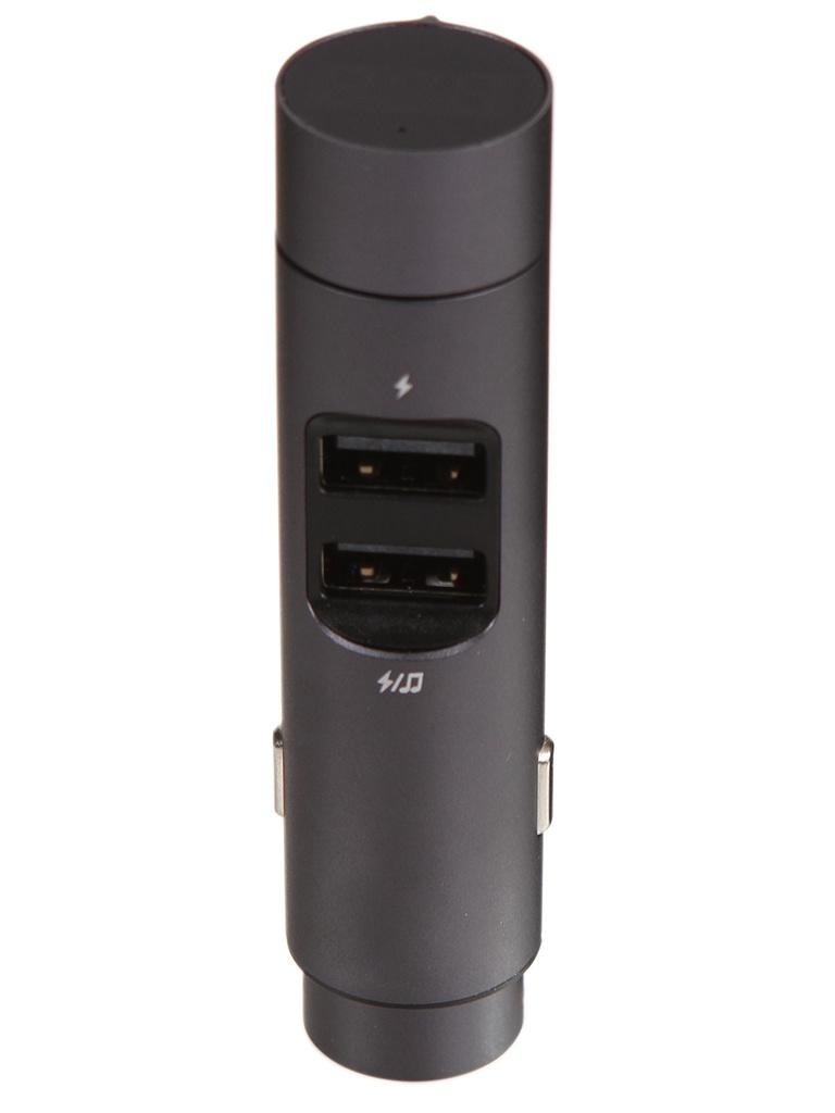 Зарядное устройство Baseus Energy Column Car Wireless MP3 Charger Dark Grey CCNLZ-0G зарядное устройство baseus t typed wireless mp3 charger with car holder black cctm b01