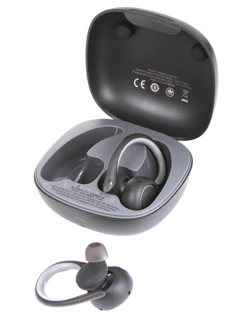 Наушники Baseus Encok True Wireless Earphones W17 Black NGW17-01