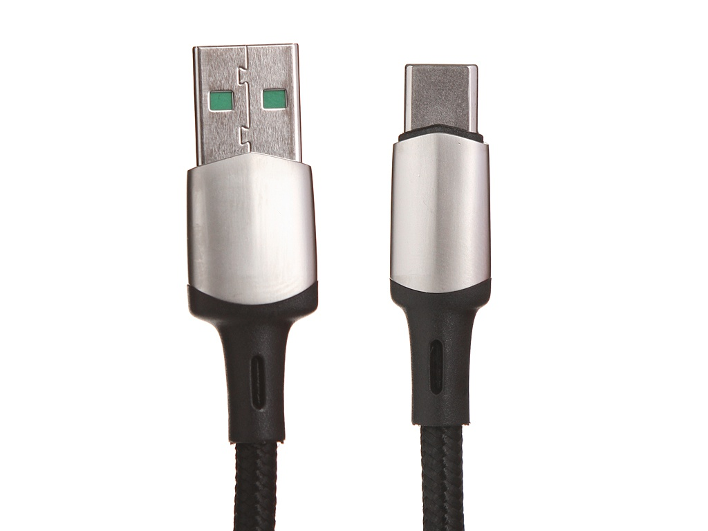 Аксессуар Baseus Cafule Cable USB - Type-C 2m Black CATKLF-VB01