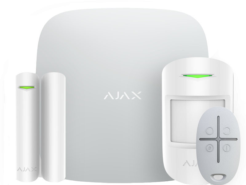 Сигнализация Ajax StarterKit Cam Plus White 20506.66WH2