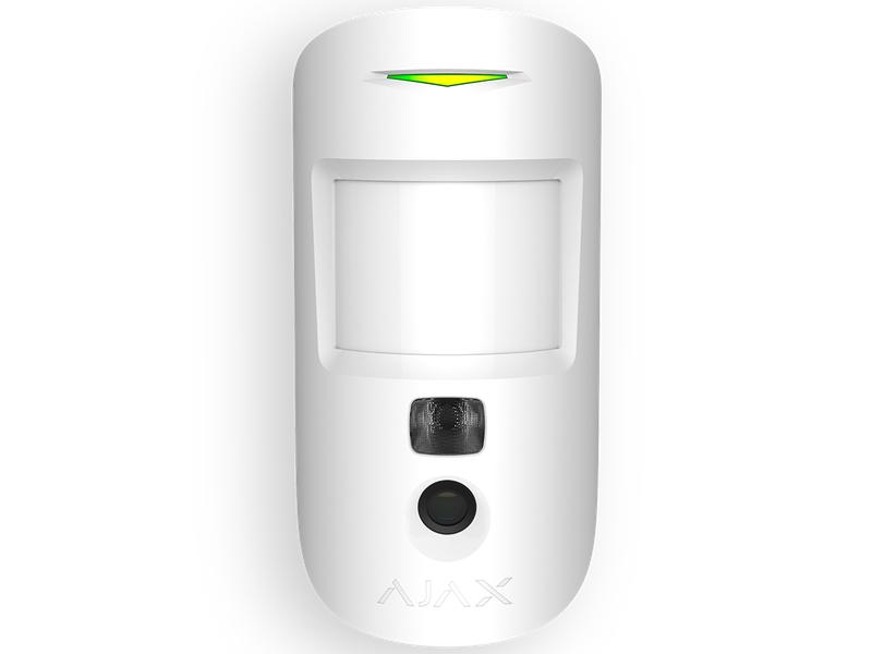 Беспроводной датчик движения Ajax MotionCam White 10309.23.WH1