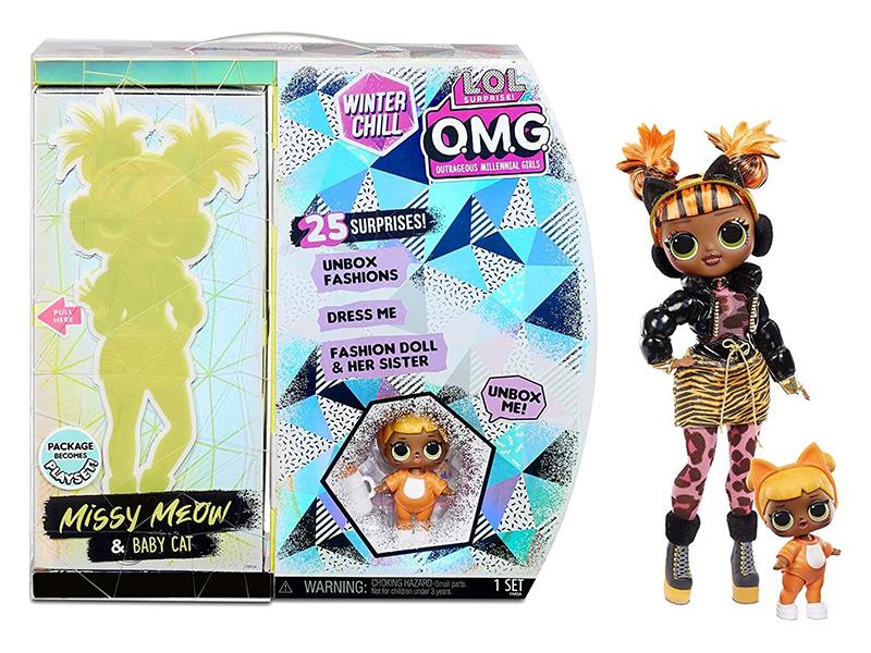 Кукла LOL OMG Winter Wonderland Doll 4 570271