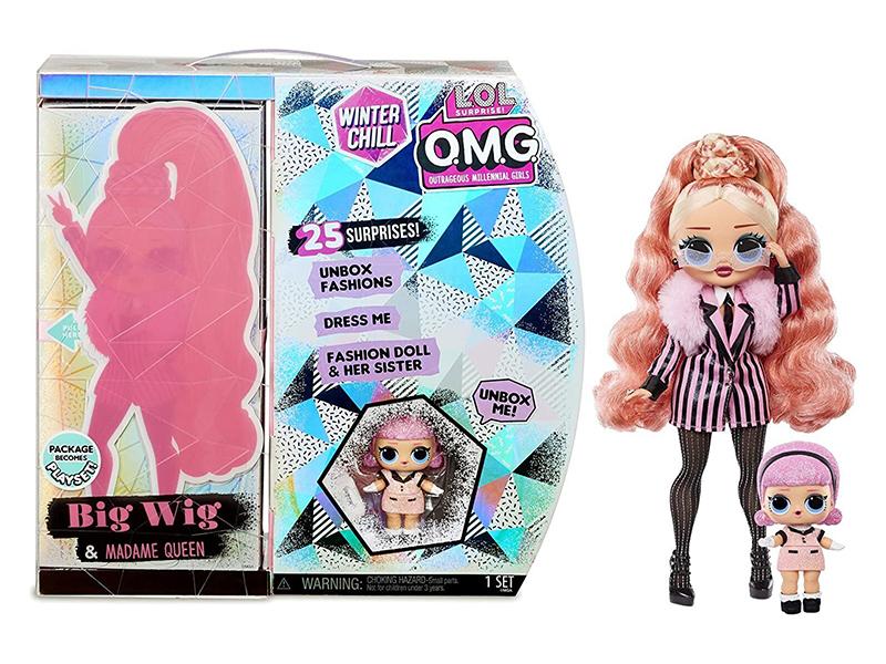 Кукла LOL OMG Winter Wonderland Doll 3 570264