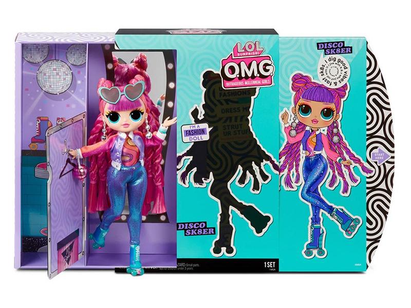 Кукла LOL OMG 3 Disco Sk8er 567196