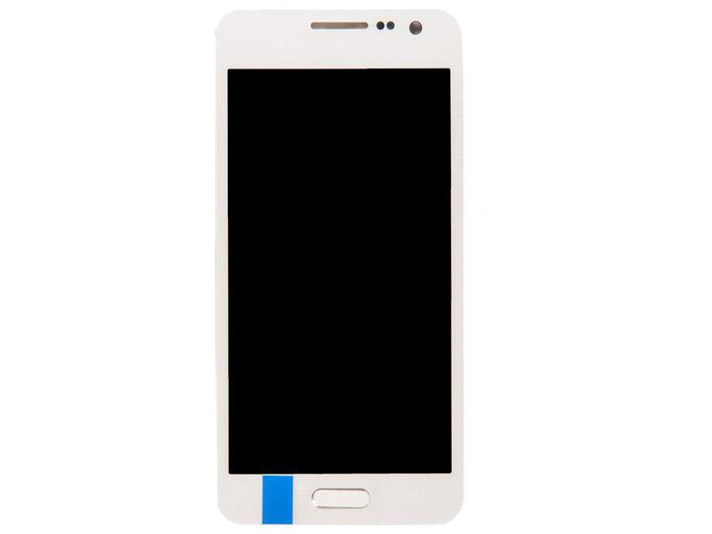 Дисплей RocknParts для Samsung Galaxy A3 SM-A300F (2014) в сборе с тачскрином TFT White 717730