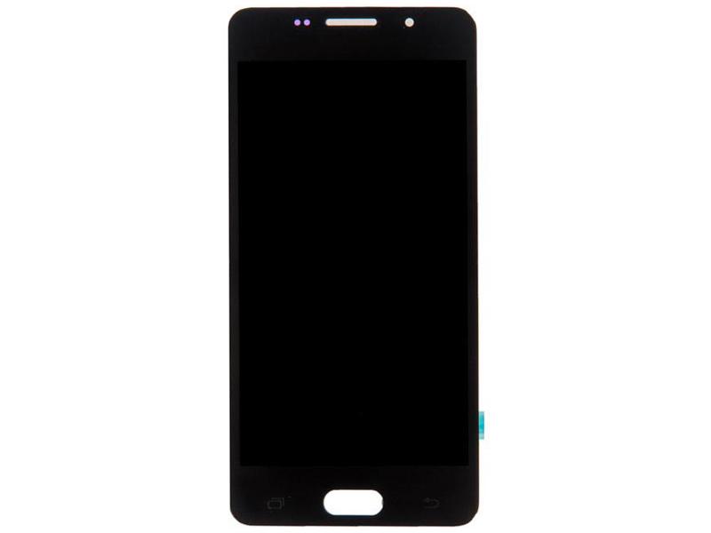 Дисплей RocknParts для Samsung Galaxy A5 SM-A510F (2016) Oled в сборе с тачскрином Black 737613 защитная плёнка для samsung galaxy a5 2016 sm a510f front