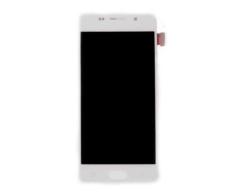 Дисплей RocknParts для Samsung Galaxy A5 SM-A510F (2016) в сборе с тачскрином TFT White 655451 защитная плёнка для samsung galaxy a5 2016 sm a510f front