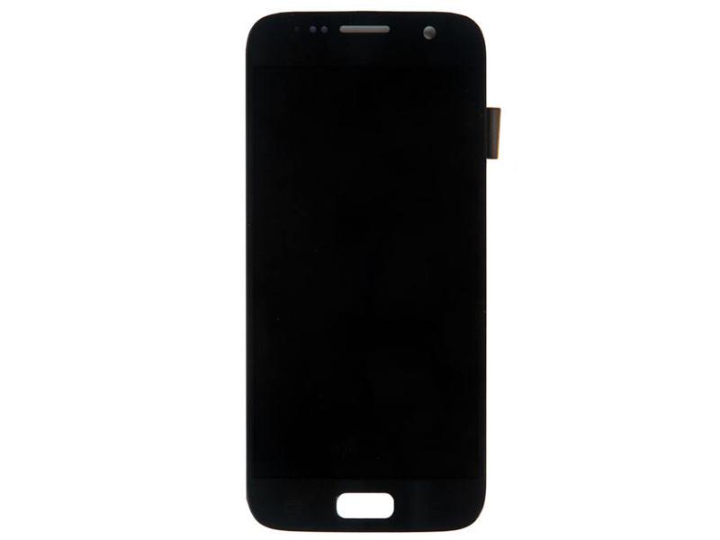 Дисплей RocknParts для Samsung Galaxy S7 SM-G930 Oled в сборе с тачскрином Black 751378