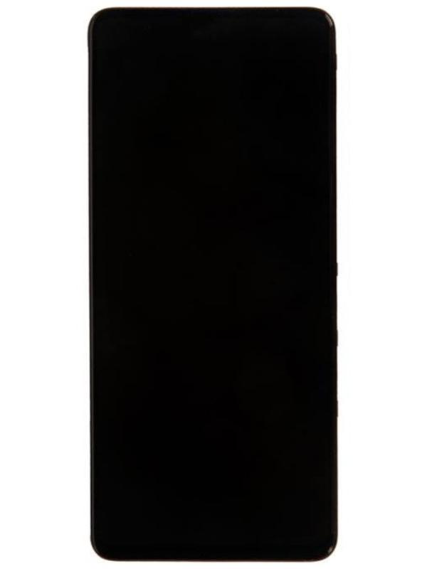 Дисплей RocknParts для Samsung Galaxy A51 SM-A515F в сборе с тачскрином и передней панелью Black 741149