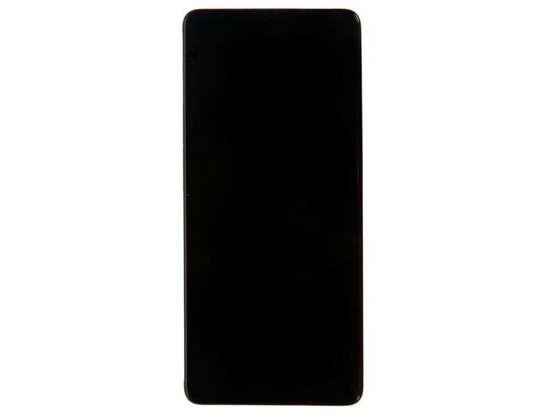 Дисплей RocknParts для Samsung Galaxy A71 SM-A715F в сборе с тачскрином и передней панелью Black 741150
