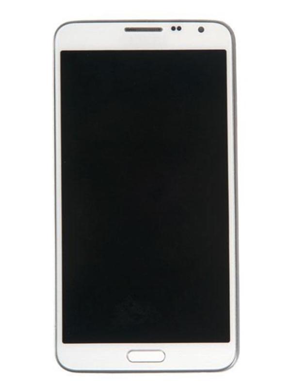 Дисплей RocknParts для Samsung Galaxy Note 3 Neo SM-N7505 Amoled в сборе с тачскрином и передней панелью White 498035