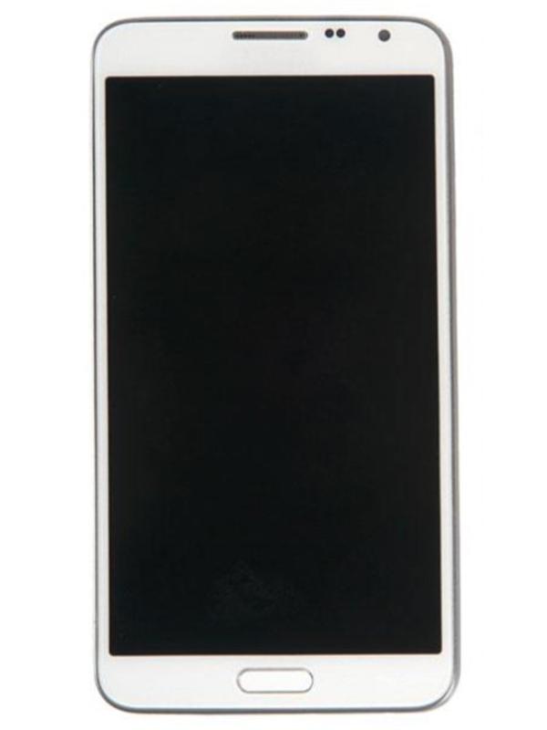 Дисплей RocknParts для Samsung Galaxy Note 3 Neo SM-N7505 Amoled в сборе с тачскрином и передней панелью White 363686