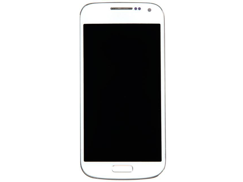 Дисплей RocknParts для Samsung Galaxy S4 Mini GT-I9190 / GT-I9192 GT-I9195 Amoled в сборе с тачскрином и передней панелью White 489708
