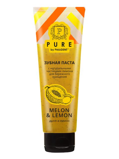 Зубная паста Pure by President Дыня и лимон 100g 7016