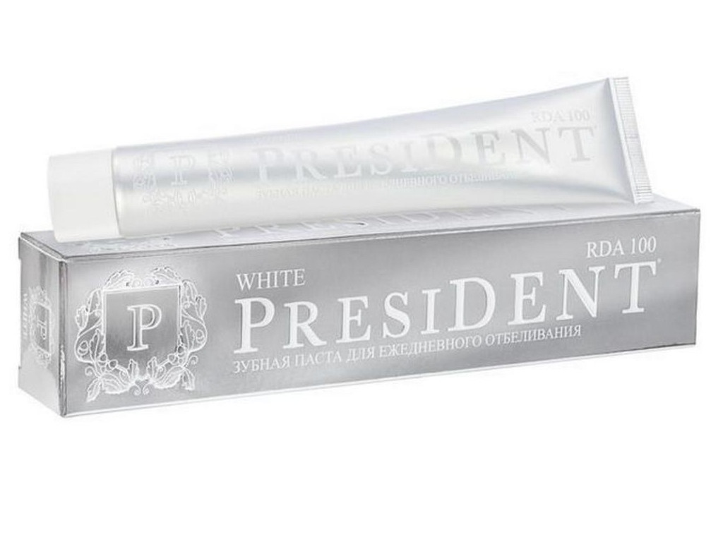 Зубная паста President White 75ml 110800