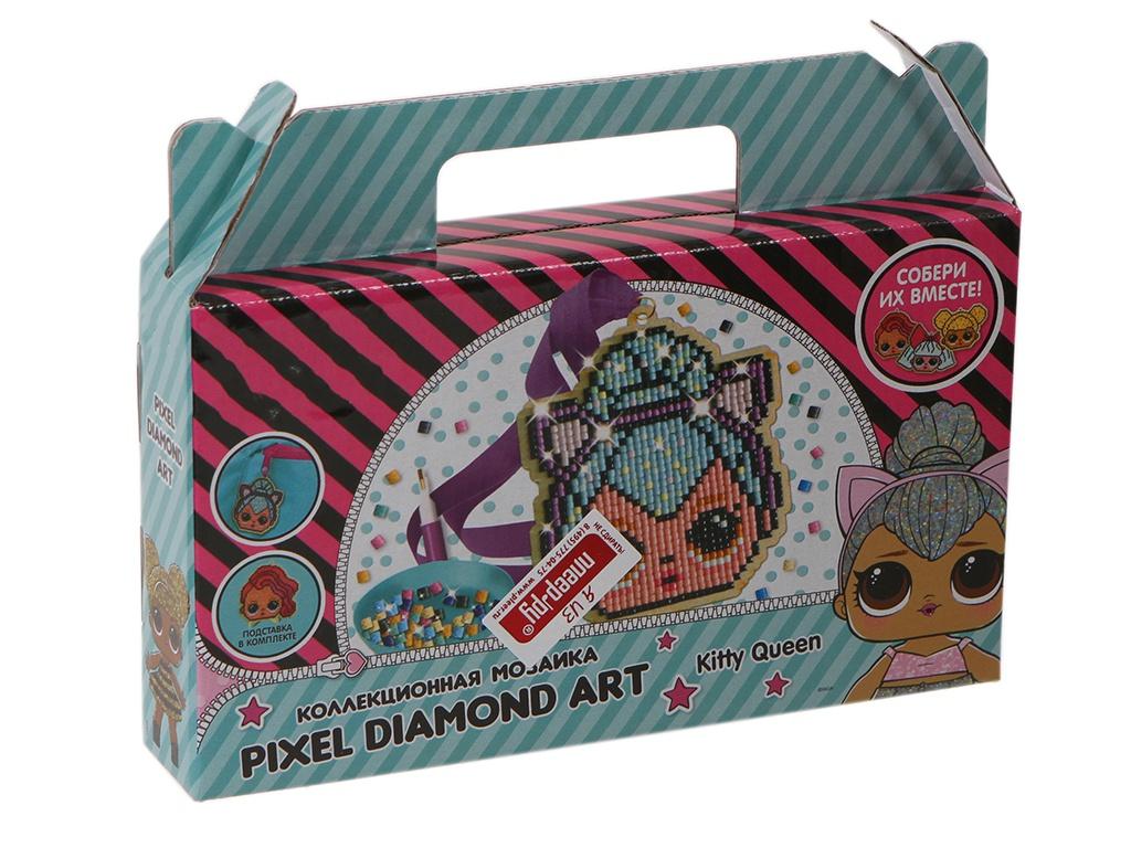 Настольная игра LOL Мини-мозаика на магните Kitty Queen LA0024-1