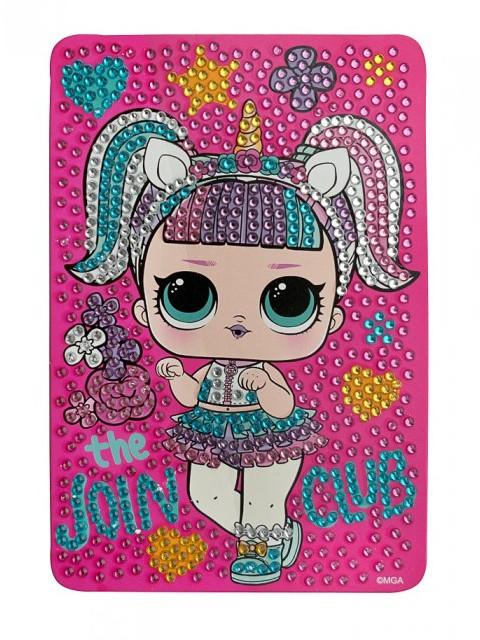 Набор для творчества LOL Алмазная мозаика The Join Club 10x15cm LA0017-2