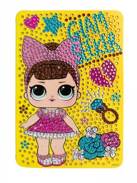 Набор для творчества LOL Алмазная мозаика Glam Seeker 10x15cm LA0017-1