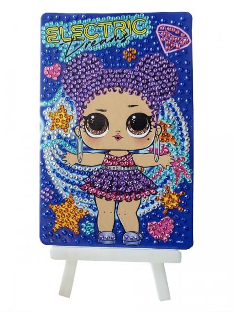 Набор для творчества LOL Алмазная мозаика Electric Dreams 10x15cm LA0009