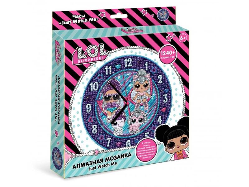 Набор для творчества LOL Алмазная мозаика Часы LA0005