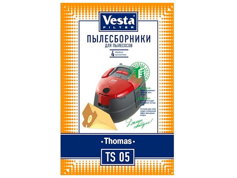 Бумажные пылесборники Vesta Filter TS 05