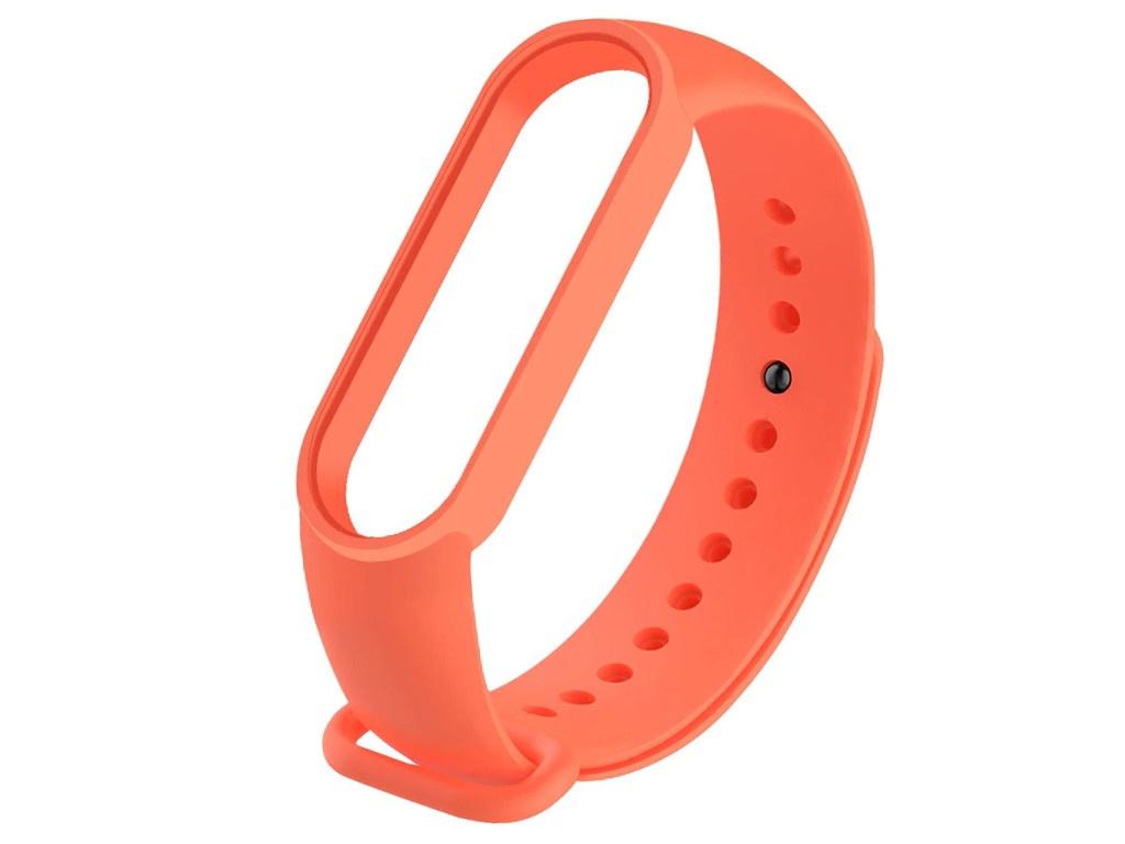Aксессуар Ремешок Activ для Xiaomi Mi Band 5 Silicone Orange 117538