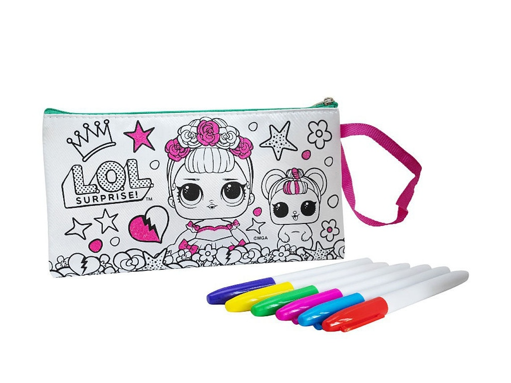 Пенал-клатч для раскрашивания LOL Glam Life LC0005