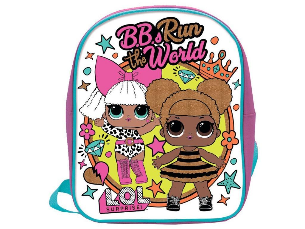 Рюкзак для раскрашивания LOL B.B.s Run the World LC0001