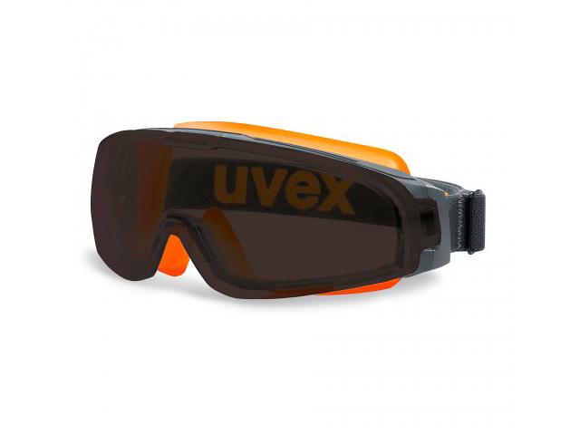 Очки защитные Uvex Ю-Соник Grey-Orange 9308248