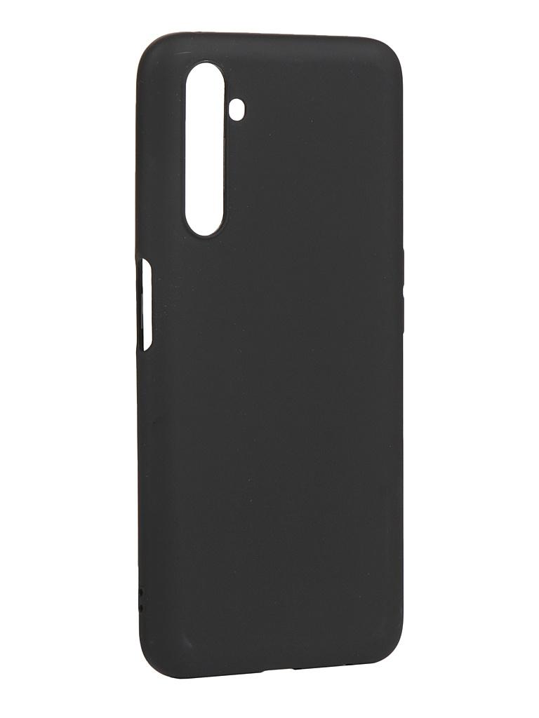 Чехол Zibelino для Realme 6 Pro Soft Matte Black ZSM-RLM-6PRO-BLK