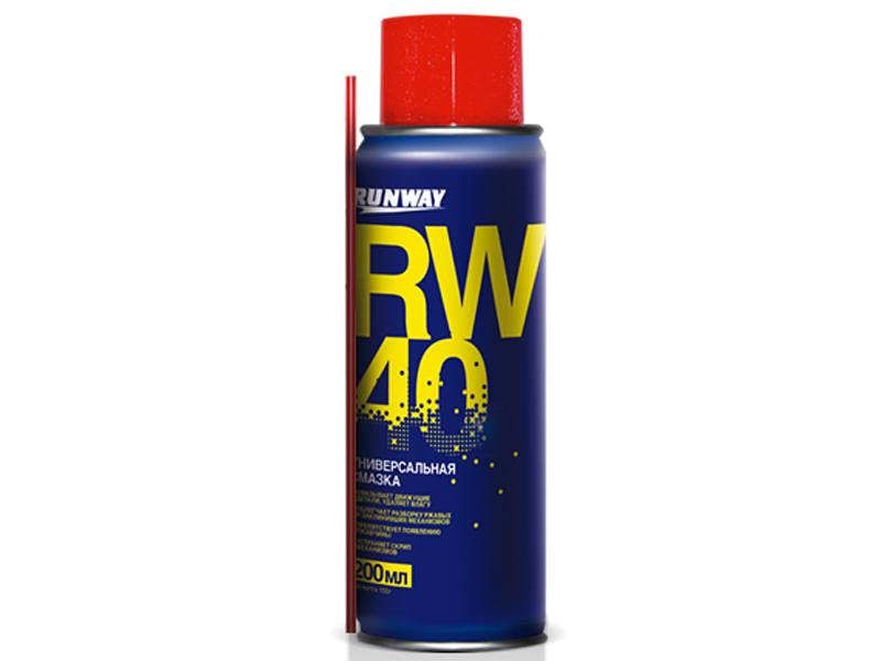 Смазка универсальная Runway RW-40 200ml RW6096