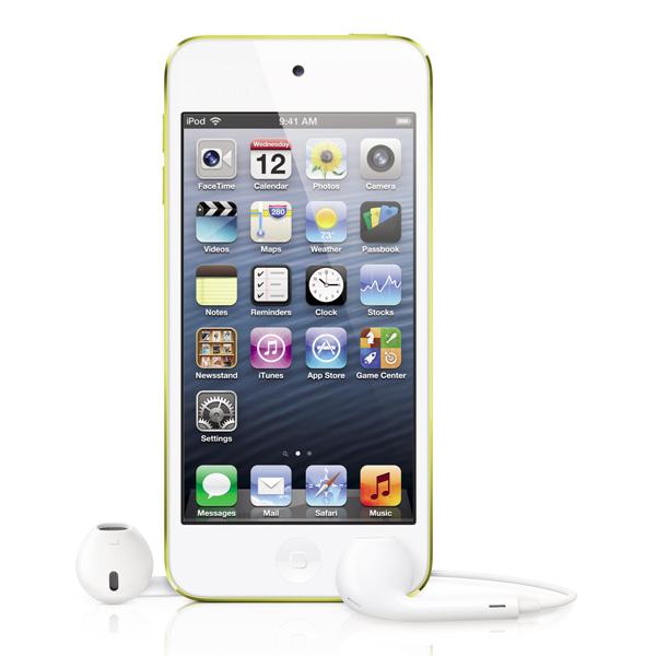 Плеер APPLE iPod Touch 5 - 64Gb Yellow MD715
