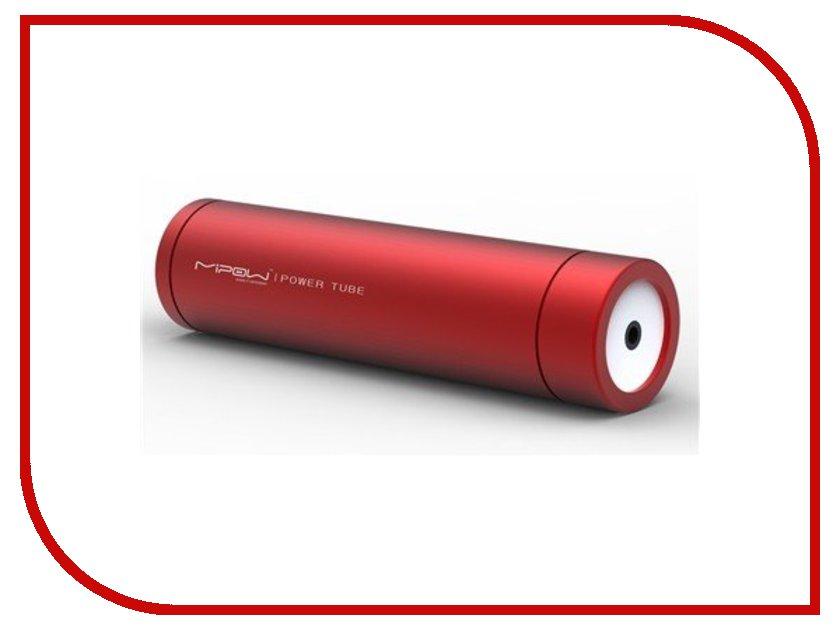 Аккумулятор MiPow Power Tube SP2200 2200 mAh Red