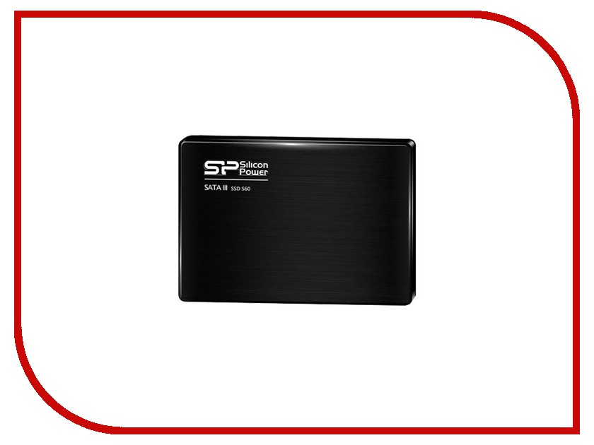 Жесткий диск 120Gb - Silicon Power Slim S60 SP120GBSS3S60S25