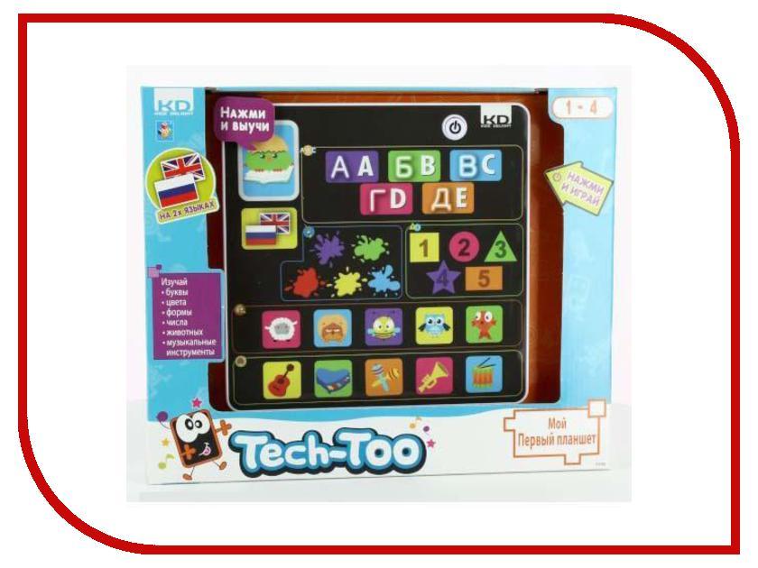 Игрушка 1Toy Kidz Delight Мой первый планшет на 2х языках T55621<br>