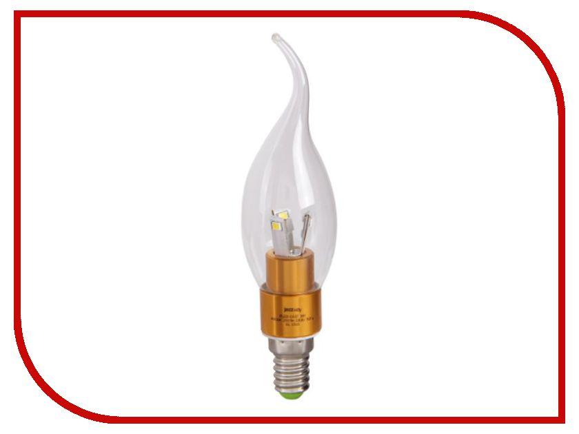 Лампочка Jazzway PLED-CA37 3w 240 Lm E14 (2700K) лампочка ipower premium 3w 2700k 250lm e14 ippb3w2700ke14 1001956