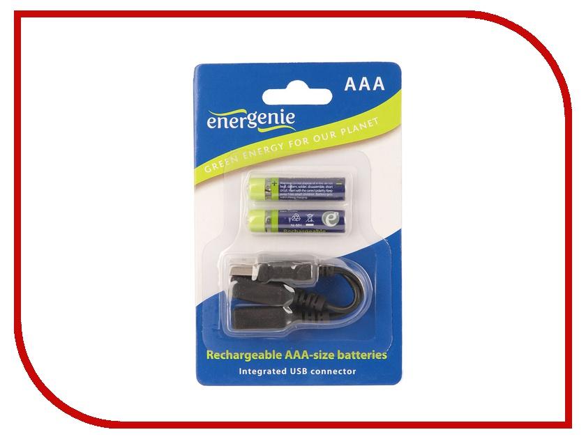 Аккумулятор AAA - Energenie EG-BA-002 550 mAh Ni-Mh USB (2 штуки)<br>