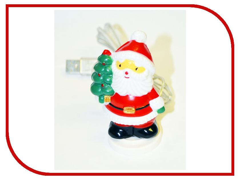 Новогодний сувенир Новогодний Санта Coolcox CC-314C USB 7цв. подсветка<br>